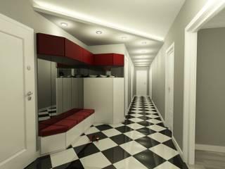 Corridor & hallway by Niyazi Özçakar İç Mimarlık, Modern