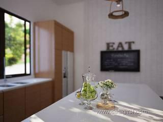 Cuisine moderne par студия Design3F Moderne