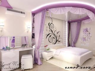 Дизайн спальни Спальня в стиле модерн от Цунёв_Дизайн. Студия интерьерных решений. Модерн