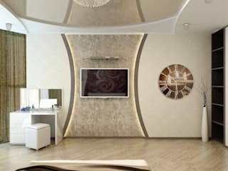 Цунёв_Дизайн. Студия интерьерных решений. Kamar Tidur Modern
