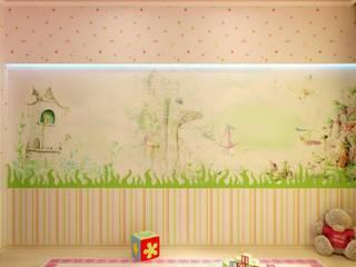 Eclectic style bedroom by Цунёв_Дизайн. Студия интерьерных решений. Eclectic