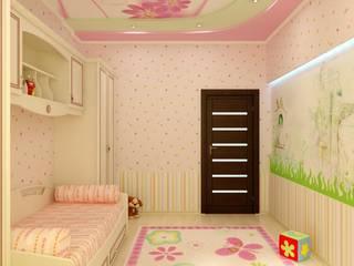 オリジナルスタイルの 寝室 の Цунёв_Дизайн. Студия интерьерных решений. オリジナル