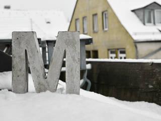 Betonbuchstabe:  Kunst  von mx | living
