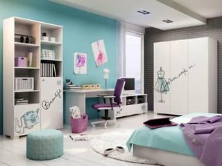 Fashion Mint: moderne Kinderzimmer von Möbelgeschäft MEBLIK