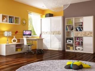 Magischer Garten: moderne Kinderzimmer von Möbelgeschäft MEBLIK