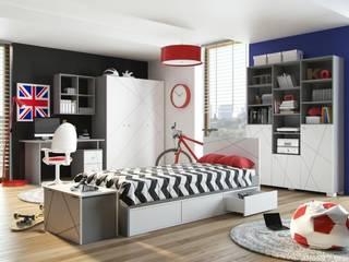 X-One: moderne Kinderzimmer von Möbelgeschäft MEBLIK