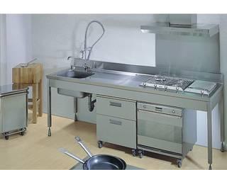Kipro Kitchen bettini design.:  in stile industriale di bettini design, Industrial