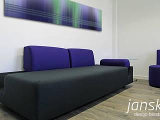 Büroplanung Moderne Bürogebäude von JAN SKIBBA DESIGN Modern