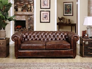 Decorating Around Your Chesterfield Sofa: classic  by Locus Habitat,Classic