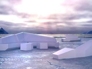 FANSTUDIO__Architecture & Design Minimalist style garden
