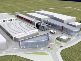 Centro Empresarial Gernika de ARQUILUR3 S.L.P. Moderno