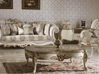 Classic style living room by Asortie Mobilya Dekorasyon Aş. Classic