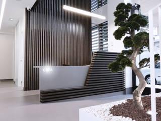 Diseño de interiores Clínica Dental Patricia Aneiros Clínicas de estilo minimalista de César Fuentes Zatón Minimalista