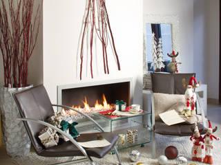 Ambiente Navidad Salones rústicos rústicos de Actúa Decor Rústico