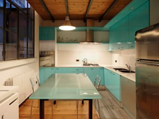 Kitchen by Studio Arch. Matteo Calvi , Modern