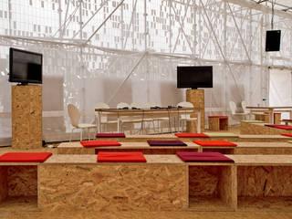 Plateforme Forum, Metz, France Centre d'expositions originaux par Emilie Marx Éclectique