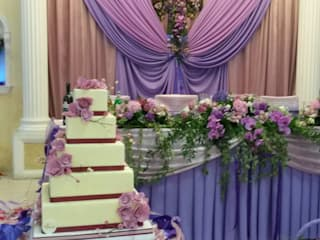 первая проба в оформлении свадьбы:  в . Автор – Абрикос