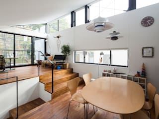 Ruang Makan Modern Oleh Studio R1 Architects Office Modern