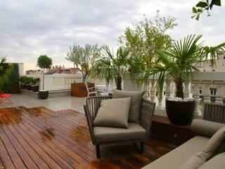 terrace FG ARQUITECTES Modern terrace