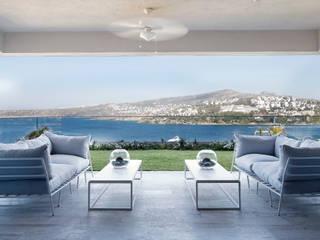Escapefromsofa Balcone, Veranda & Terrazza in stile moderno