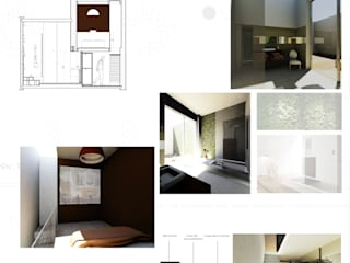 Projet d'appart-hôtel pour musiciens à Bruxelles par Camille DELSAUX Éclectique