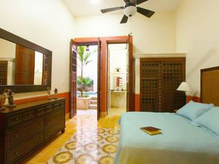 Recámara Principal Dormitorios de estilo colonial de Arturo Campos Arquitectos Colonial