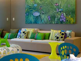 Brunete Fraccaroli Arquitetura e Interiores Living room