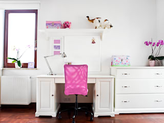 Pokoj Mai.: styl , w kategorii Pokój dziecięcy zaprojektowany przez Miśkiewicz Design For Kids