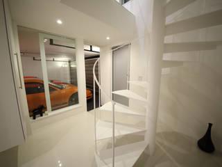 一級建築士事務所・スタジオインデックス 車庫/遮陽棚