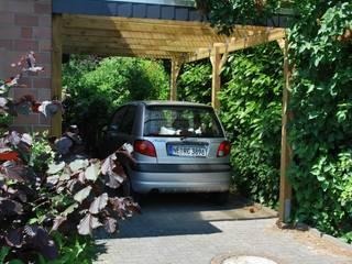Carport-Discount.de - günstige Holzcarports als Bausatz online konfigurieren von Deutsche Carportfabrik GmbH & Co. KG Rustikal