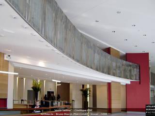 by le verre appliqué à la décoration et à l'architecture Eclectic