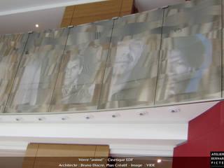 Edificios de oficinas de estilo ecléctico de le verre appliqué à la décoration et à l'architecture Ecléctico