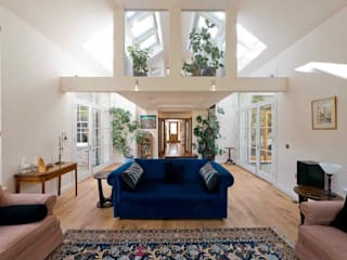 Grange 2 Eclectic style living room by Erdal Architects Eclectic