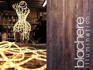 Studio Blachère à Paris 3ème Espaces commerciaux modernes par Agence MOHA Moderne