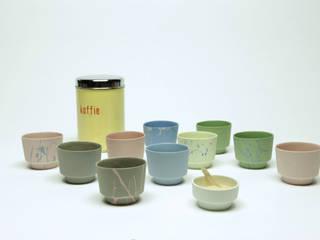 koffie kopjes Cups:   door Ontwerpstudio Inge Simonis, Eclectisch
