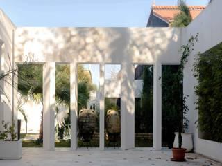 Guelimì house Giardino minimalista di Ilaria Di Carlo Architect - IDC_studio Minimalista