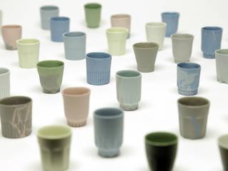 Sake cups:   door Ontwerpstudio Inge Simonis, Eclectisch