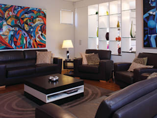modern Living room by Natasha Fowler Design Solutions