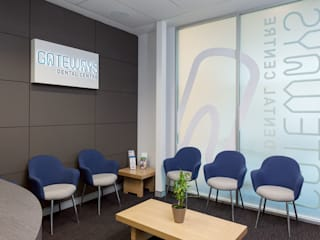 Gateways Dental Modern clinics by Natasha Fowler Design Solutions Modern