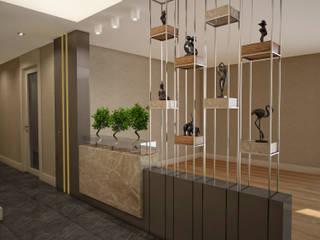 BM HOUSE Modern Koridor, Hol & Merdivenler BWorks Modern