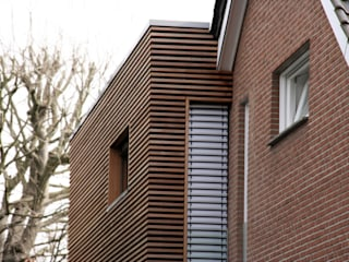 Übergang:  Häuser von Architekturbüro Sahle