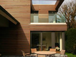 Seitenansicht:  Häuser von Architekturbüro Sahle