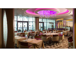 Sirocco Restaurant, Royal Yacht Hotel, Jersey:  Hotels by IDP Design