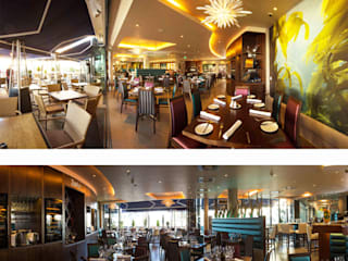Zephyr Restaurant, Royal Yacht Hotel, Jersey:  Hotels by IDP Design