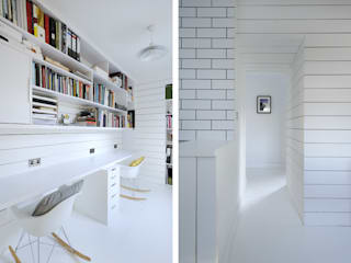 Heath Cottage Office โดย Brown + Brown Architects โมเดิร์น