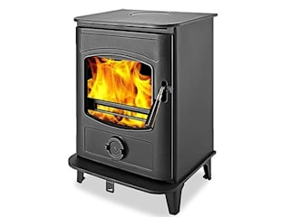 Graphite Wood Burning / Multi Fuel Stoves: modern  by Direct Stoves, Modern