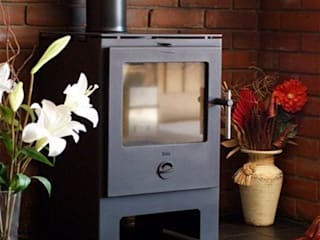 Heta Wood Burning Stoves: modern  by Direct Stoves, Modern