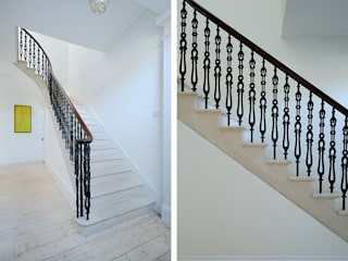 South Crown Street Classic style corridor, hallway and stairs by Brown + Brown Architects Classic