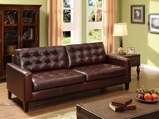 Cheer Up Your Home with Leather Furniture: modern  by Locus Habitat,Modern
