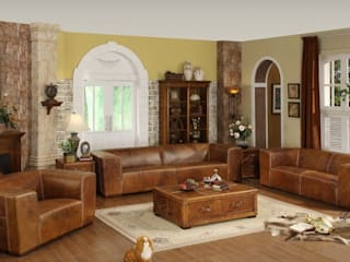 Cheer Up Your Home with Leather Furniture: classic  by Locus Habitat,Classic